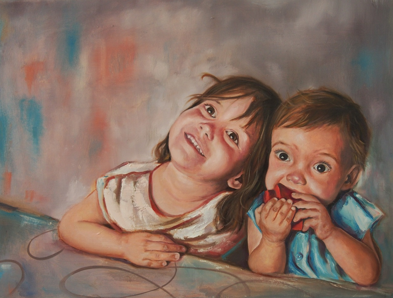 4th generation - 80x60 - Oil on canvas