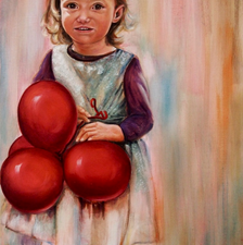 Amélie - 60x100 - Oil on canvas