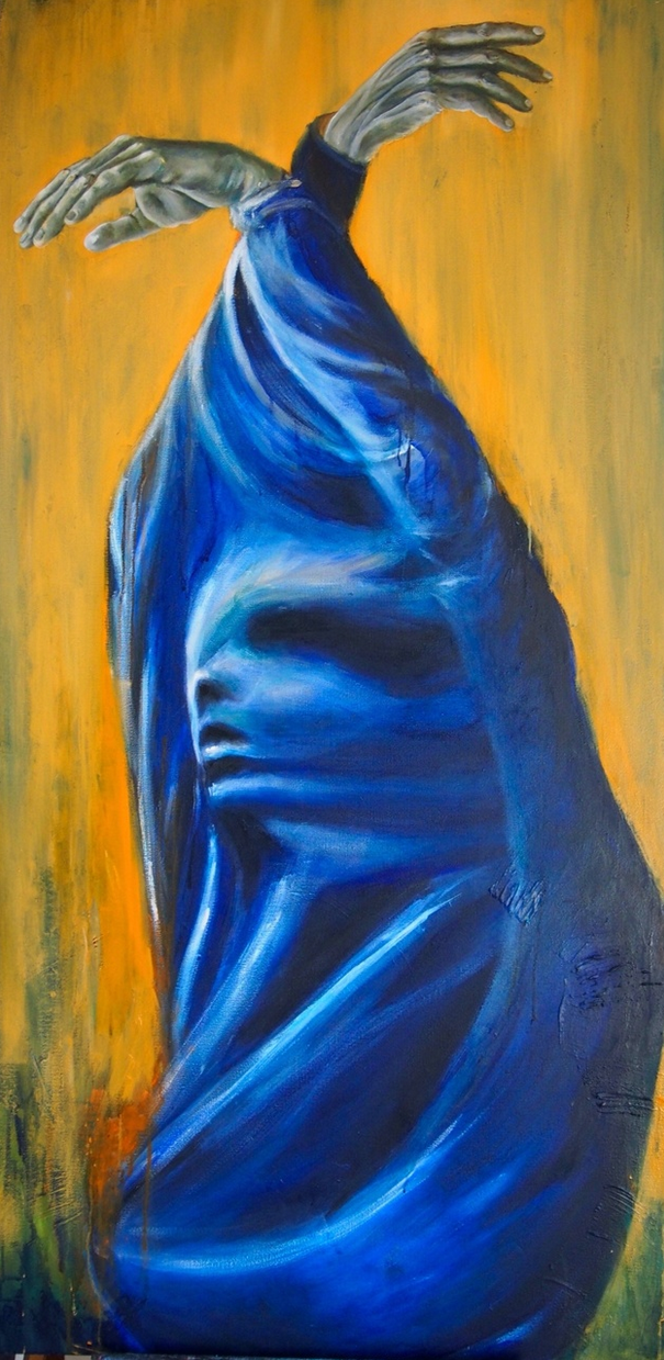 Captured - 80x160 - Oil on canvas