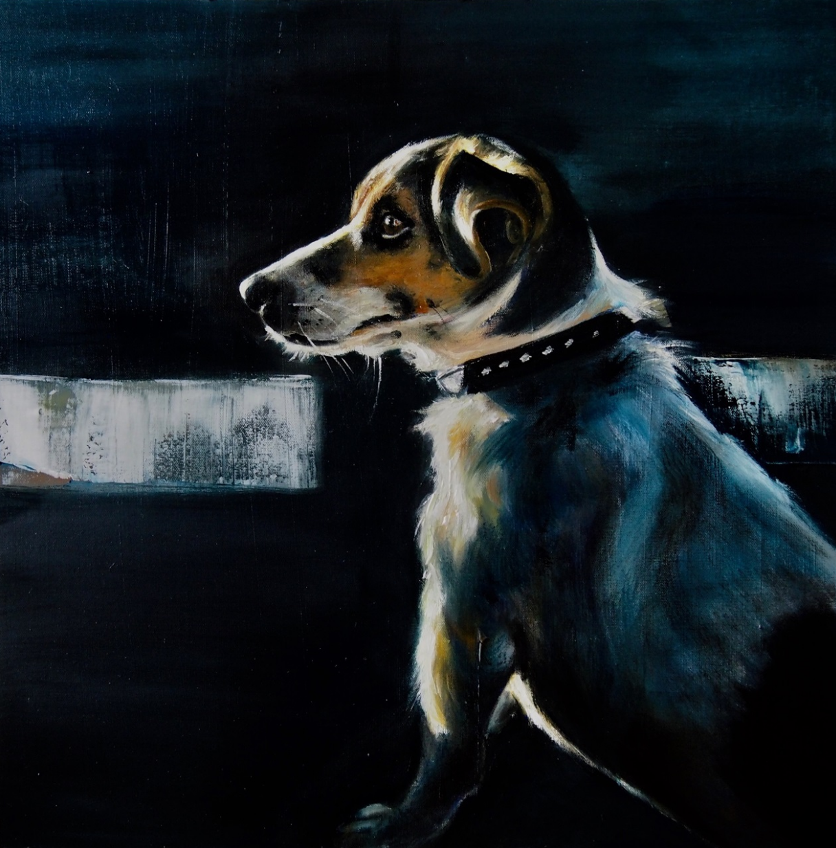 Jessy - 60x60 - Oil on canvas