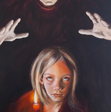 Light impdence - 60x150 - Oil on canvas