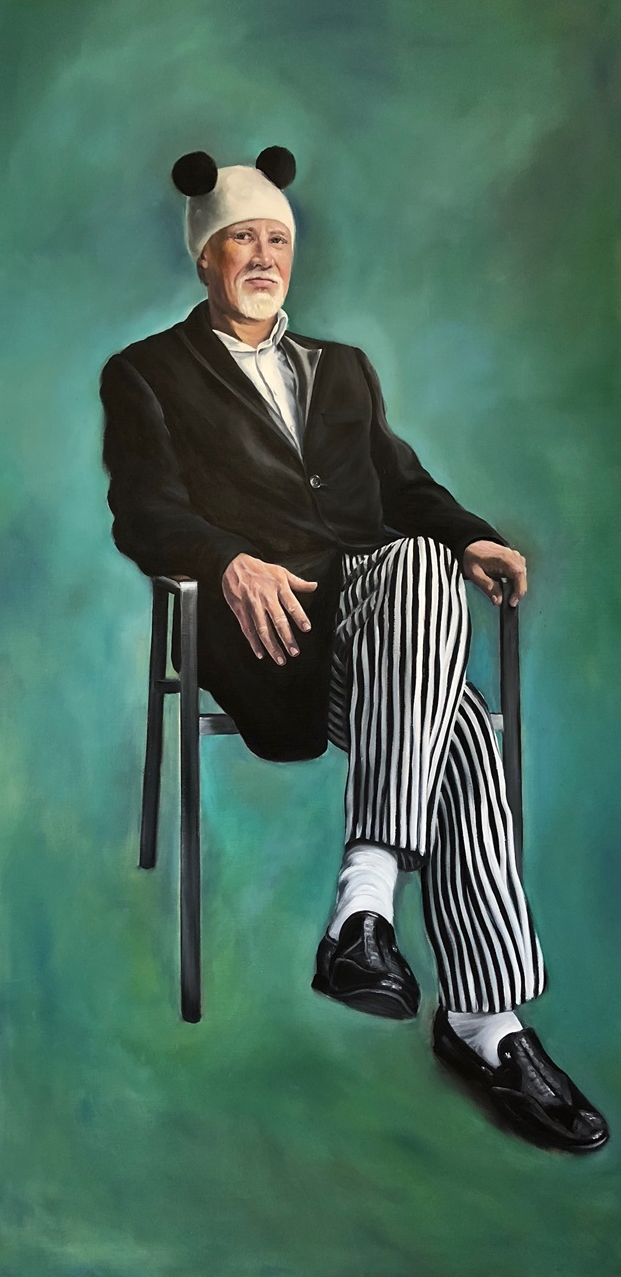 Serious? - 100x200 - Oil on canvas