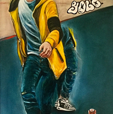 Yolo - 90x160 - Oil on canvas